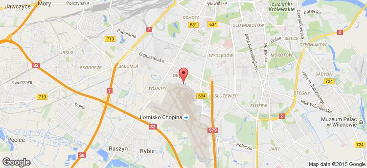 Aeropark Corius static map