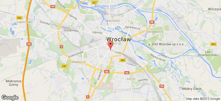 Arkady Wroclawskie static map
