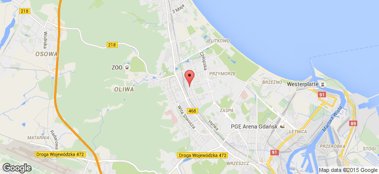 Arkońska Business Park A5 static map