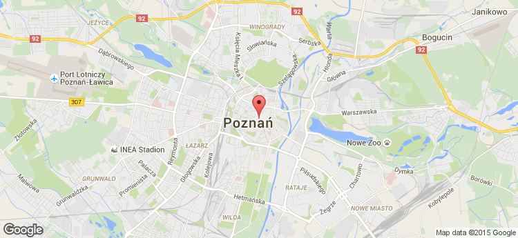 Bazar Poznański static map