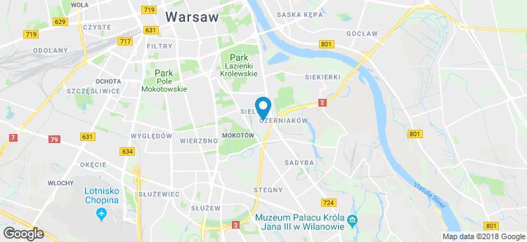 Bobrowiecka 8 static map
