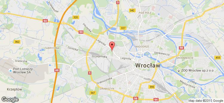 Business Garden Wrocław I budynek F static map