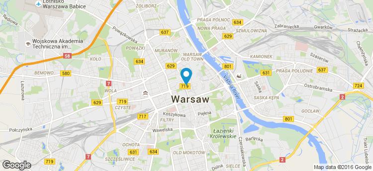 Centrum Marszałkowska static map