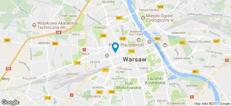Centrum Żelazna II static map