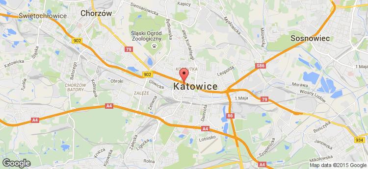 Chorzowska 50 static map