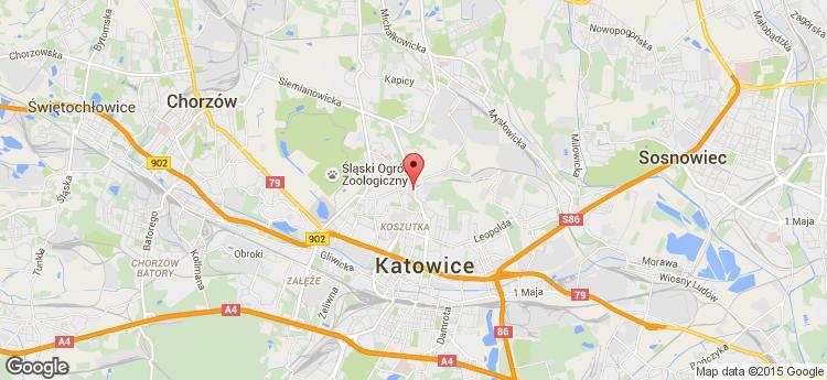 DL ATRIUM Katowice Korfantego static map