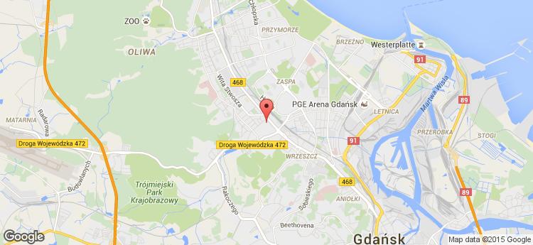 Garnizon.biz Grunwaldzka 186 static map