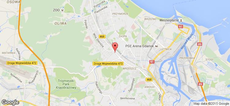 Garnizon.biz Grunwaldzka 190 static map