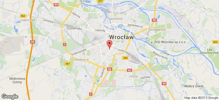 Globis Wrocław static map