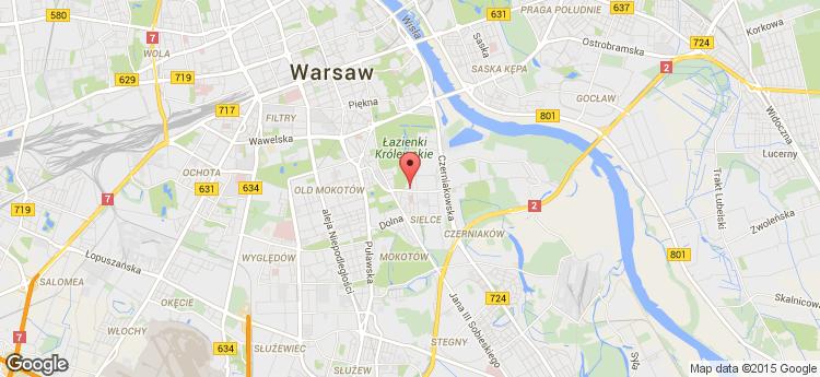 Jems HQ static map
