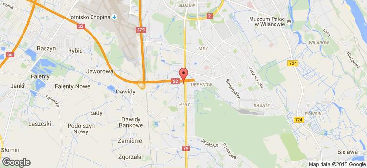 Kinnarps HQ static map