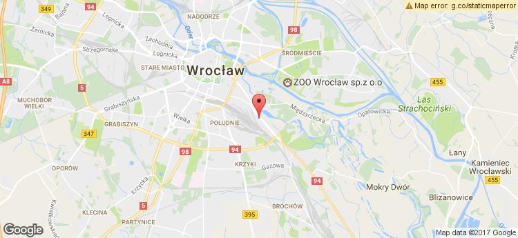Krakowska 29 static map
