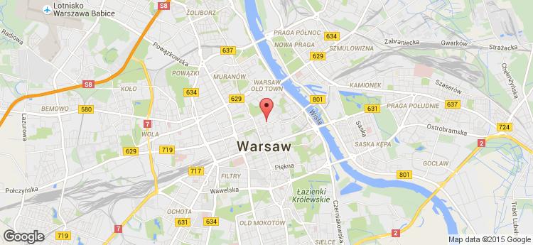 Mazowiecka 2/4 static map