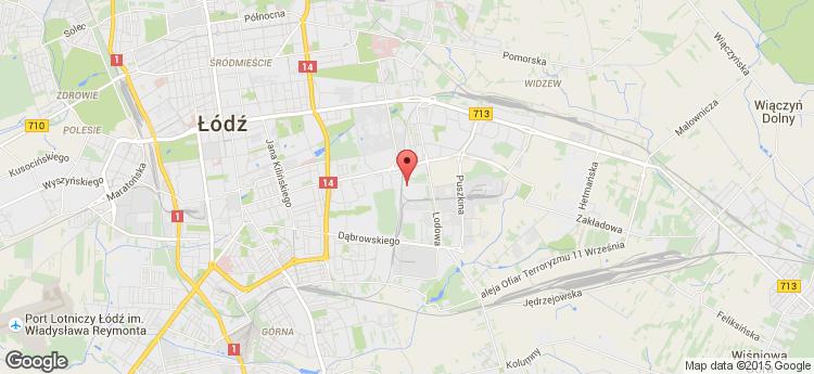 Papiernicza Business Park static map
