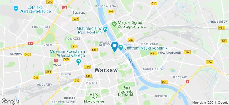 Powiśle Business Center static map