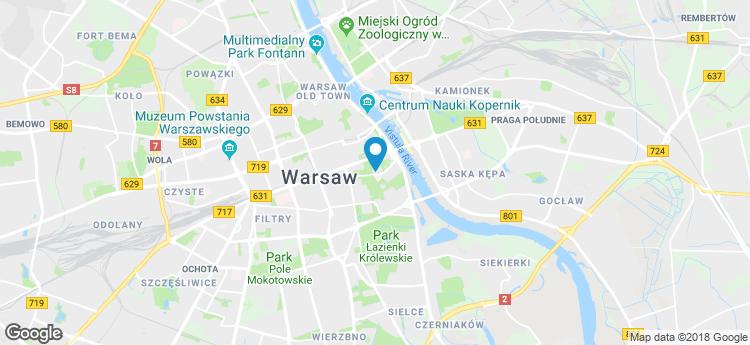 Powiśle Park static map
