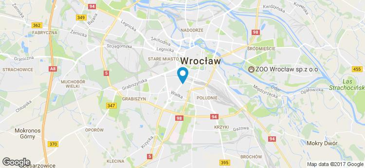 Powstańców Śląskich 28/30 static map