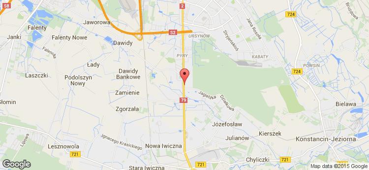Puławska 491 static map