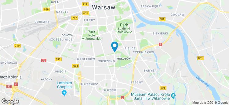Puławska 99A static map