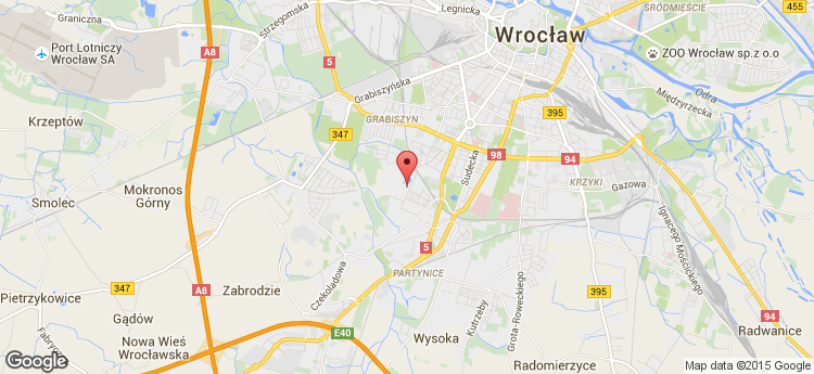 Racławicka Center static map