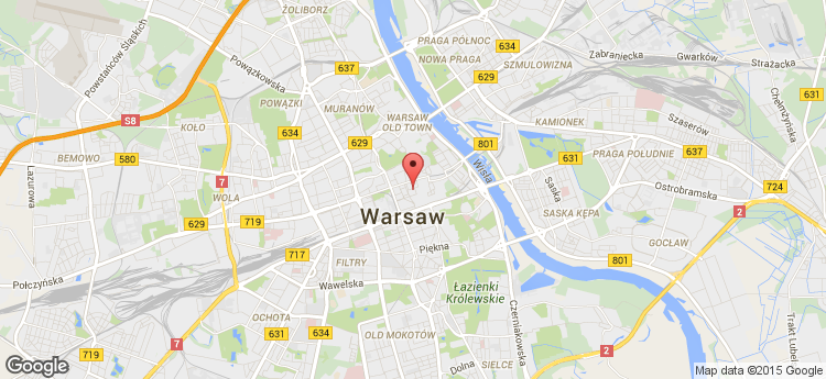 Warecka 11A static map