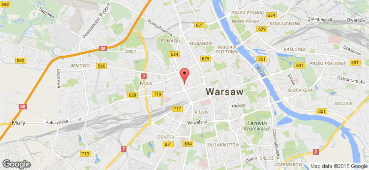 Warsaw Spire A (Tower) static map
