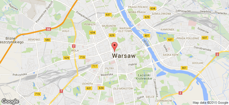 Warsaw Towers static map