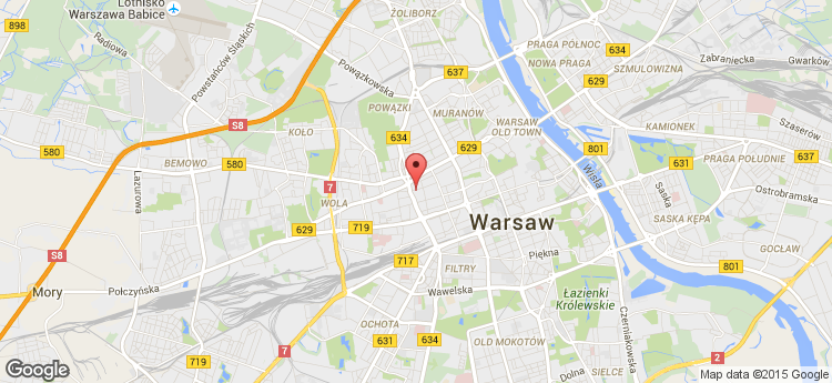 Warsaw Trade Tower static map