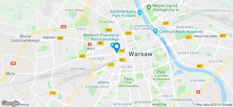 Warsaw Unit static map