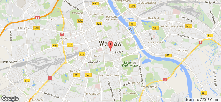 Wilcza 46 static map
