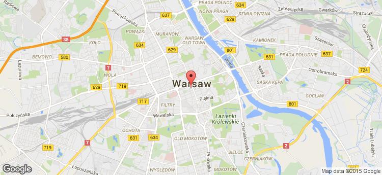 Wolf Marszałkowska static map