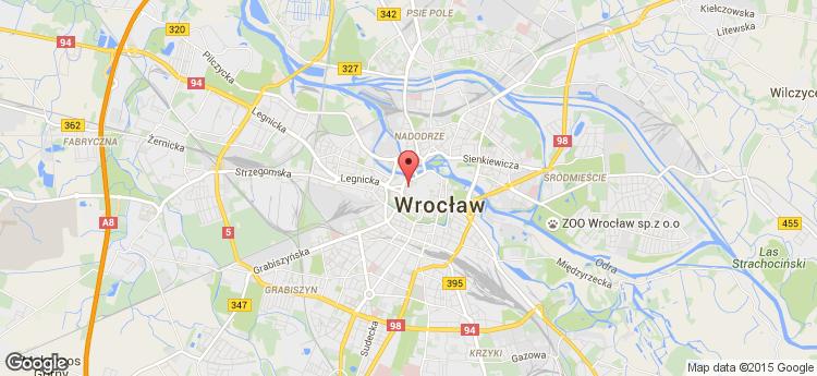 Wratislavia Center static map