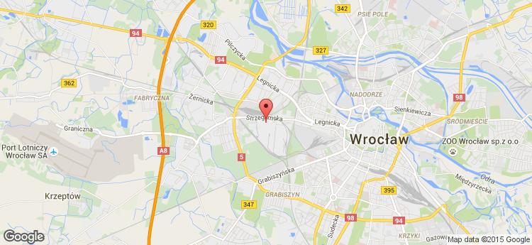 Wrocławski Park Biznesu I Building 3a static map